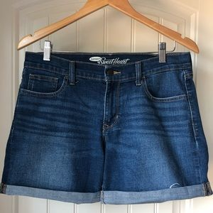 Old Navy rolled denim shorts